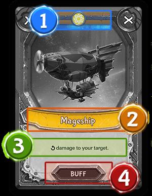 Action card - buff