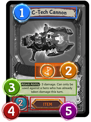 Action card - item